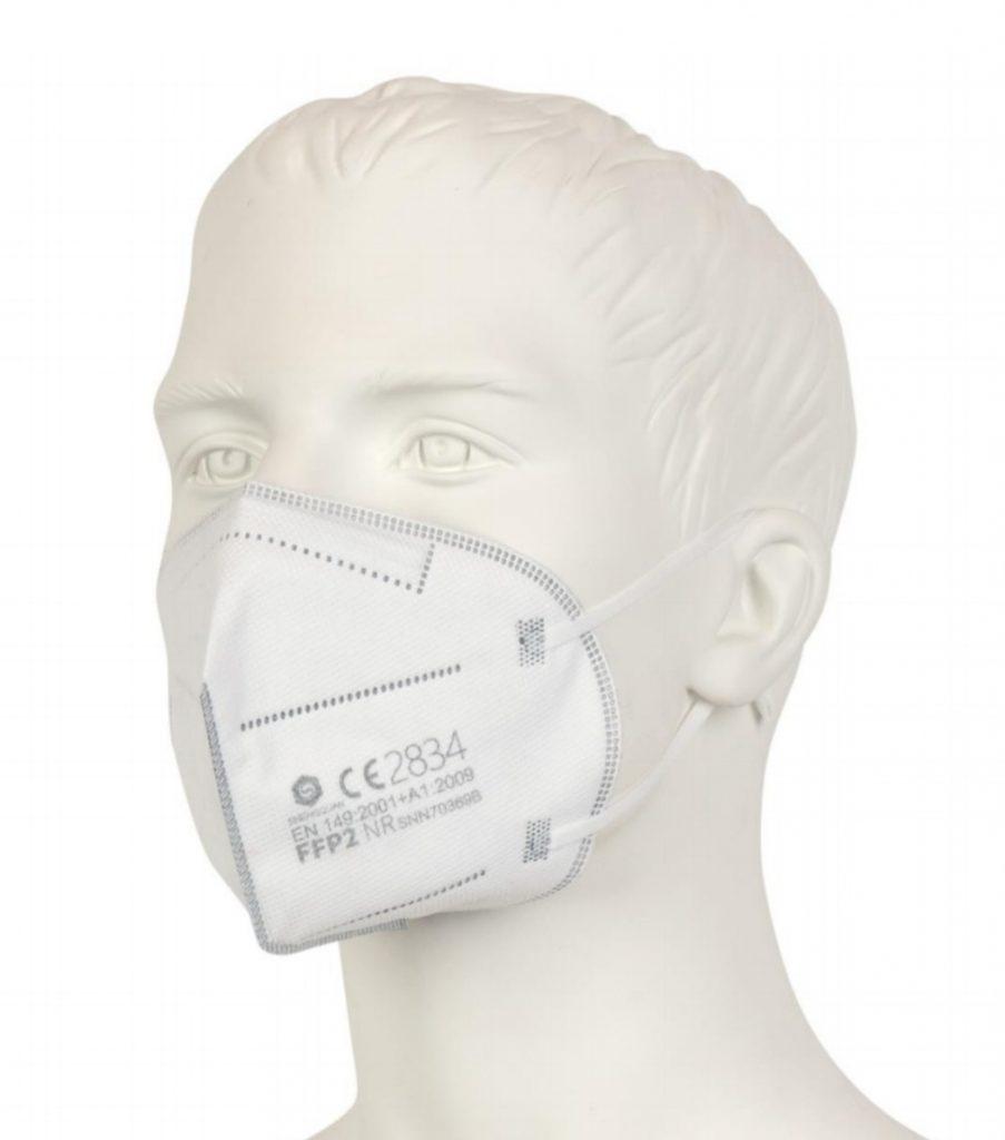 FFP 2 Maske Aufgestickt